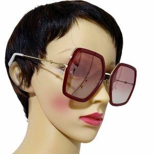 GUCCI GG0106S 56mm Oversized Sunglasses